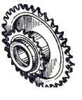 Блок звездочек СПС 18100