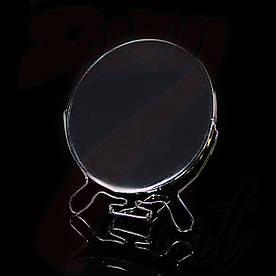 "Зеркало металлическое круглое 7 """