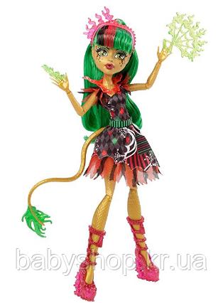Кукла Монстр Хай Джинафаер Лонг серия Цирк Monster High Freak du Chic Jinafire Long, фото 1