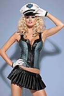 Женское эротическое белье костюм Police skirty set