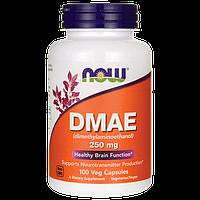 ДМАЕ (ДМАЭ) для красоты и здоровья, Now Foods, DMAE, 250 mg, 100 капсул