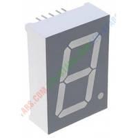 Красный семисегментный LED индикатор FYS-10012 BS-21 (24 x 34) 1-разрядный FORYARD (общий анод)