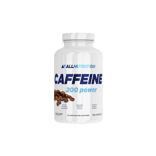 AllNutrition Caffeine 200 power 100 caps