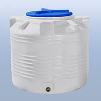 Емкость пластиковая для воды 200 литров, вертикальный, 1 слой,