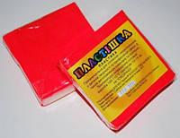 Полимерная глина Пластишка, №0204 красный флуоресцентный, 75 г