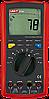 UNI-T UTM 170B (UT70B) мультиметр цифровой для измерения AC/DC напряжения, сопротивления, частоты тока
