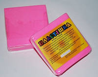 Полимерная глина Пластишка, №0205 розовый светлый флуоресцентный, 75 г