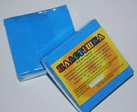 Полимерная глина Пластишка, №0208 голубой флуоресцентный, 75 г