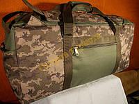 Сумка рюкзак камуфляжная 1224 пиксель зеленый-хаки 70 литров