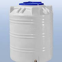 Емкость пластиковая для воды 300 литров, вертикальный, 1 слой,