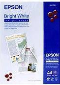 Фотобумага epson a4 bright white ink jet paper, 500 листов (c13s041749)