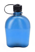 Бутылка, фляга для воды NALGENE OASIS на 1000мл синия