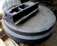 Направляющее колесо (натяжное) - ленивец DOOSAN DX225, DX255, DX300, DX340 , фото 1
