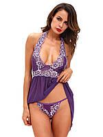 Сексуальный фиолетовый пеньюар, фото 1