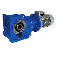 Коническо-цилиндрический мотор-редуктор GS-Drive, серия E-KA 10