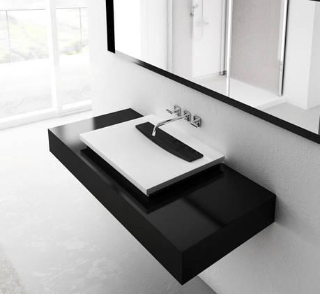 Умывальник Marmorin Tatoo (с черной плиткой), фото 2