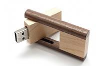 Оригинальные деревянные флешки 8GB Возможно нанесение надписи / логотипа