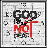 """Часы подарочные """" Бог не умер"""""""