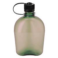 Военная фляжка NALGEN для воды 1000мл олива