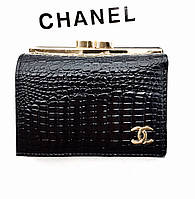 Женский кошелек Chanel (ch 9008) black