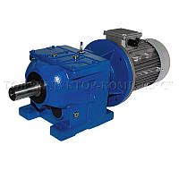 Цилиндрический соосный мотор-редуктор GS-Drive, серия E-R(RF) 09