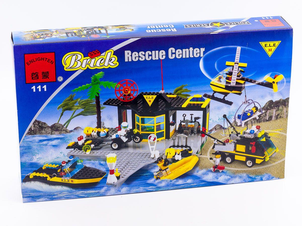 Конструктор Brick 111 Спасательный центр 509 деталей