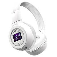 Беспроводные Bluetooth наушники Zealot B570 Sparkle,белые/серебро