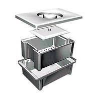Емкость-контейнер ЕДПО-5 (5 л.) для дезинфекции и предстерилизационной обработки
