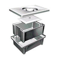 Емкость-контейнер ЕДПО-10 (10 л.) для дезинфекции и предстерилизационной обработки