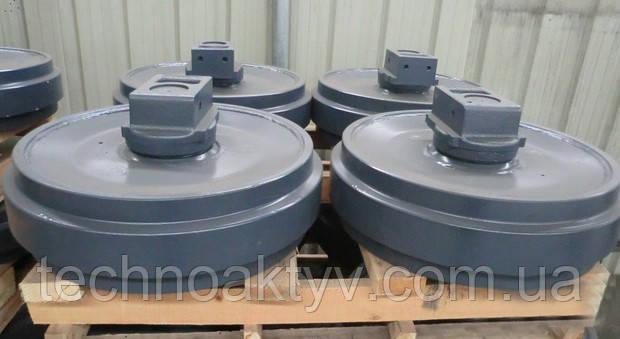 Направляющие (натяжные) колеса - ленивец HITACHI EX200-5, EX300-1, EX300-2~5, ZX330-3, EX400-1~5, EX550-5