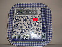 Тарелка + салфетка