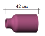 Сопло керамическое Abicor Binzel № 6 NW (9.5 L 42mm) ABITIG®GRIP/SRT 18SC18
