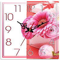 """Часы подарочные """" Букет цветов"""""""