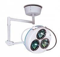 Светильник 3-рефлекторный операционный СН-3 потолочный
