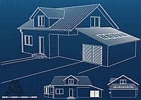 Проектирование дома с гаражом
