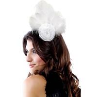 Эксклюзивная белая шляпка