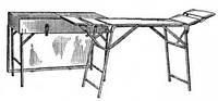 Стол СППУ перевязочный полевой с укладочным ящиком