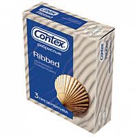 Презервативы CONTEX Ribbed, 3 шт