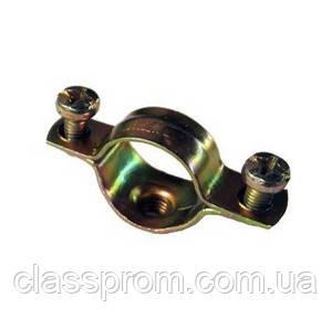 Скоба металлическая двухкомпонентная IEK d12-13мм IEK
