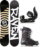 Комплект сноуборд Raven Relict 2015 + крепления для сноуборда Raven s250 + ботинки для сноуборда Raven Explore