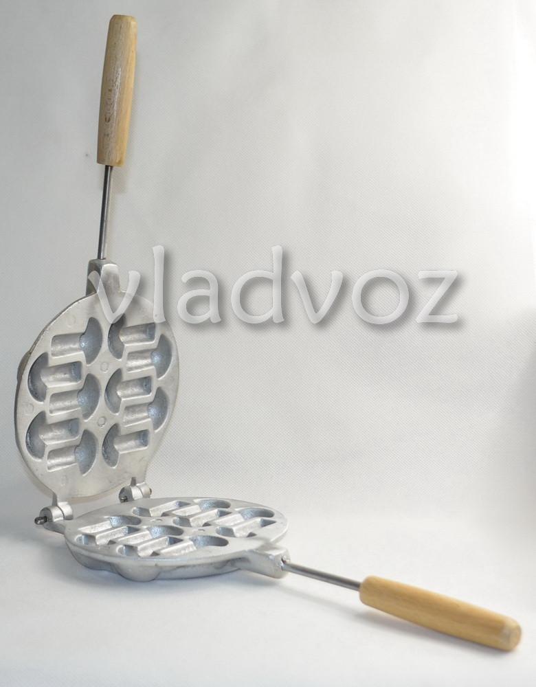 алюминиевая форма для печенья грибочки