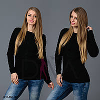 Свитер женский узорный  W11-550-10 женские свитера больших размеров Украина