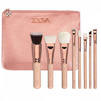 Набор кистей Zoeva - Rose Golden Luxury Set Vol.2 8 brushes