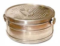 Коробка стерилизационная КФ-12 с фильтром