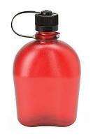 Бутылка, фляга для воды NALGENE OASIS на 1000мл красная