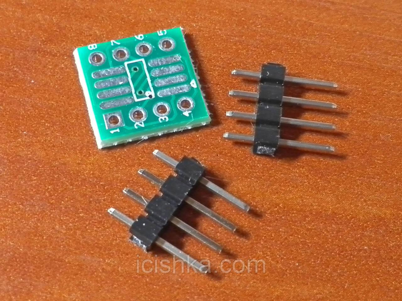 SOP8 SO8 TSSOP8 to DIP8 adapter - переходник для микросхем