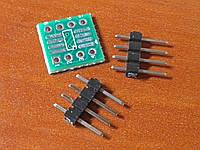 SOP8 SO8 TSSOP8 to DIP8 adapter - переходник для микросхем, фото 1