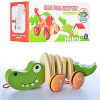Деревянная игрушка Каталка MD 0988