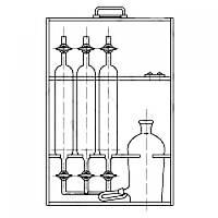 Прибор ППГ для отбора и хранения проб газа