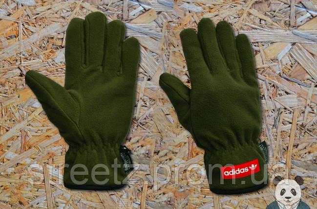 Зимові рукавички Adidas / Адідас, фото 2